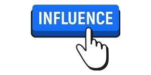 influence button