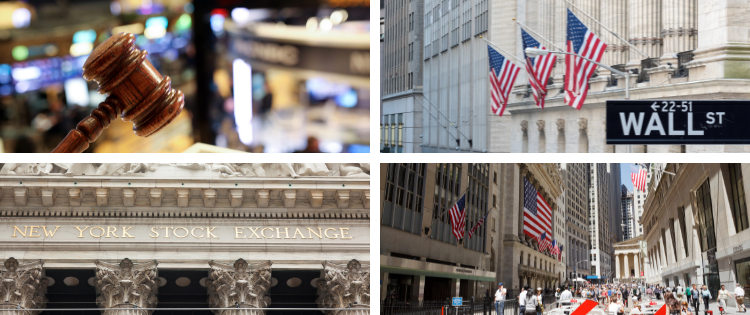 images of wallsteet and stock market