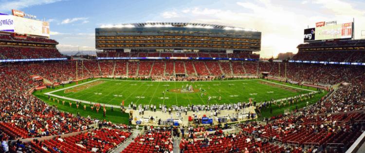 football game, sports now political, woke sports