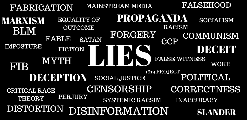 characteristics of the word lie