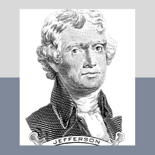 Jefferson oil painting