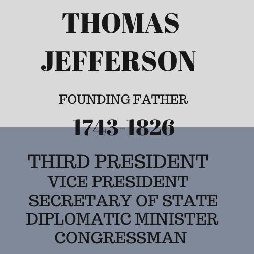 information about Thomas Jefferson