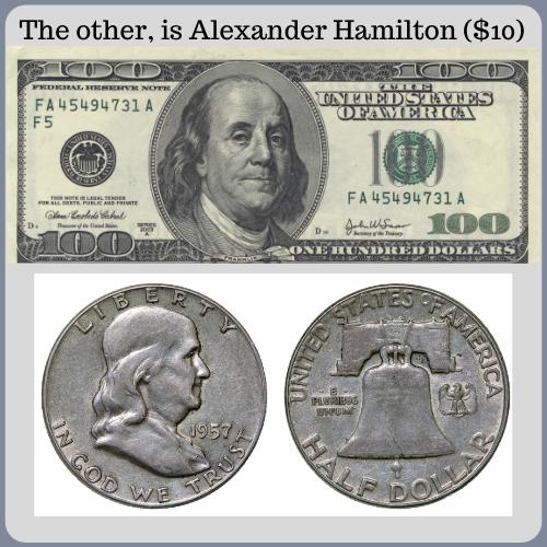 Franklin on 1/2 dollar