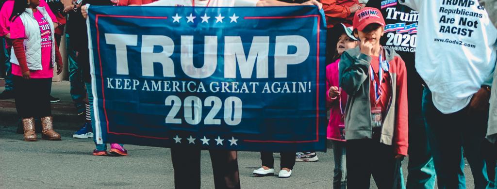 DONALD J TRUMP 2020 ELECTION SIGN