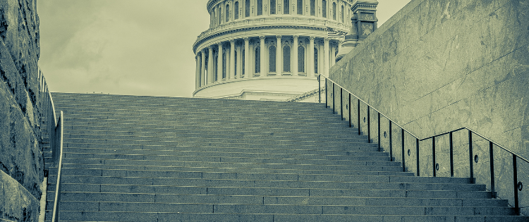 STEPS LEADING TO THE CAPITAL BUILDING WASHINGTON DC