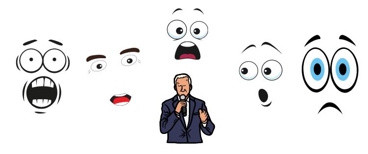 reactions to Biden