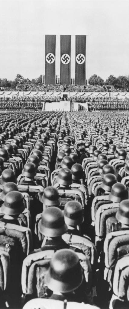 1936 Nuremberg rally -Nazi German Soldiers